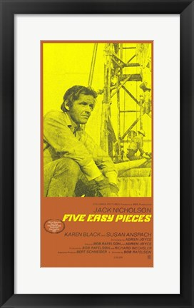 Framed Five Easy Pieces Tall Print