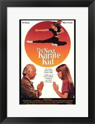 Framed Next Karate Kid Print