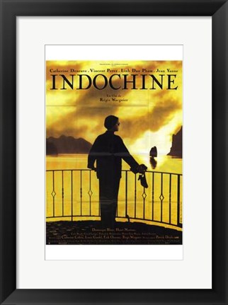 Framed Indochine Print