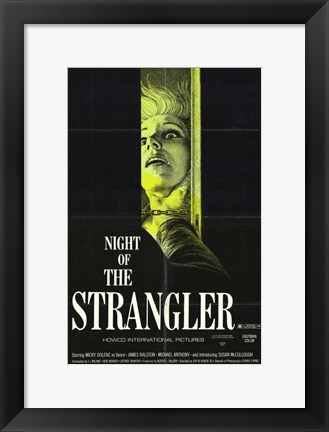 Framed Night of the Strangler Print