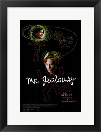 Framed Mr Jealousy Print