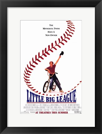Framed Little Big League Print