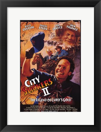Framed City Slickers 2: the Legend of Curly's G Print