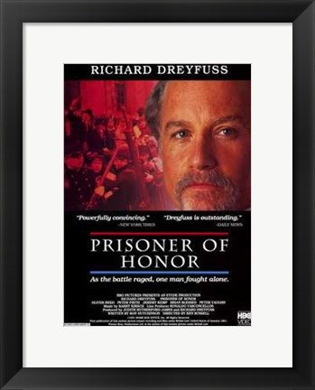 Framed Prisoner of Honor Print