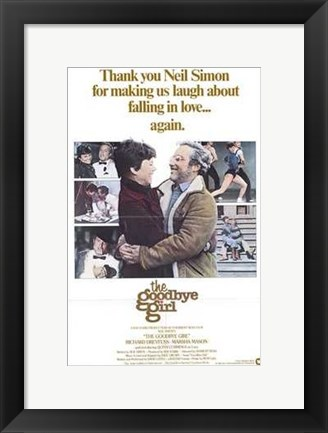 Framed Goodbye Girl Print