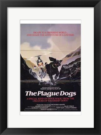 Framed Plague Dogs Print