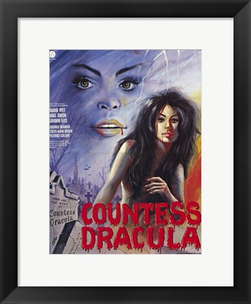Framed Countess Dracula Print