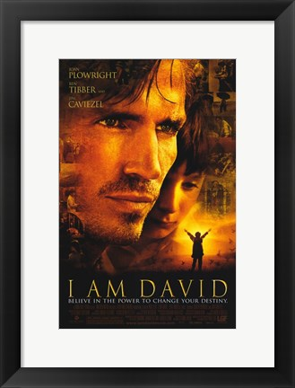 Framed I Am David Print