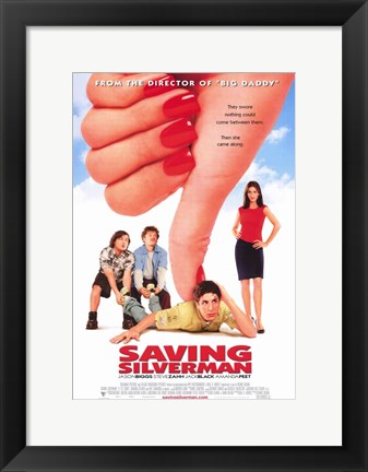 Framed Saving Silverman Print