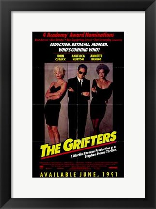 Framed Grifters (characters) Print