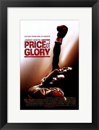 Framed Price of Glory Print