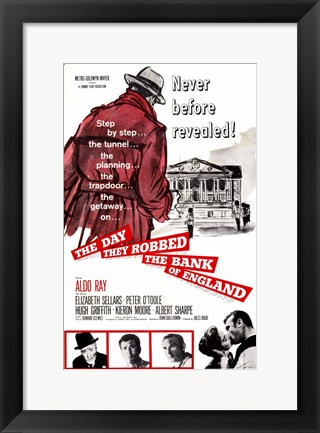 Framed Day They Robbed the Bank of England Print