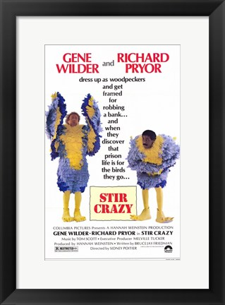 Framed Stir Crazy Print