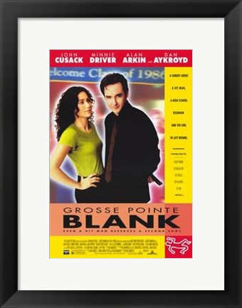 Framed Grosse Pointe Blank Print