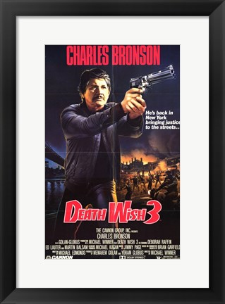 Framed Death Wish 3 Print