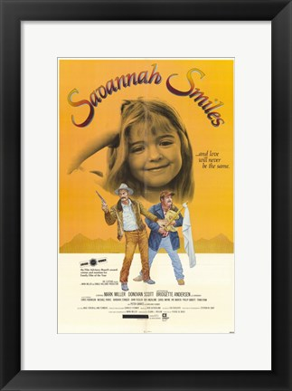 Framed Savannah Smiles Print
