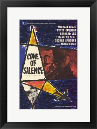 Framed Cone of Silence Print
