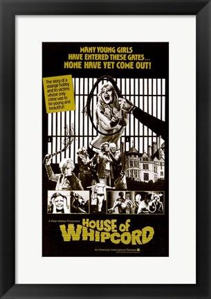 Framed House of Whipcord Print