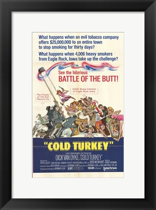 Framed Cold Turkey Print