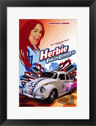 Framed Herbie: Fully Loaded Print