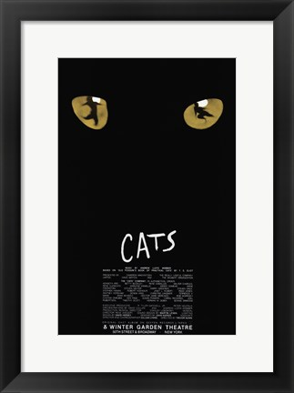 Framed Cats (Broadway) - style A Print