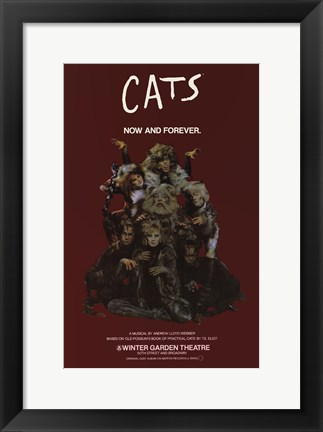 Framed Cats (Broadway) - style B Print