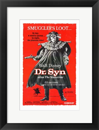 Framed Dr Syn  Alias the Scarecrow Print
