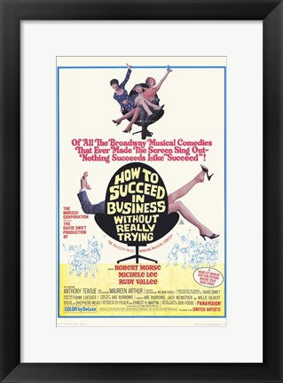 Framed How to Succeed in Business Without Reall Print
