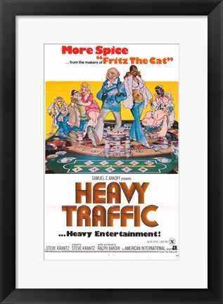 Framed Heavy Traffic Print