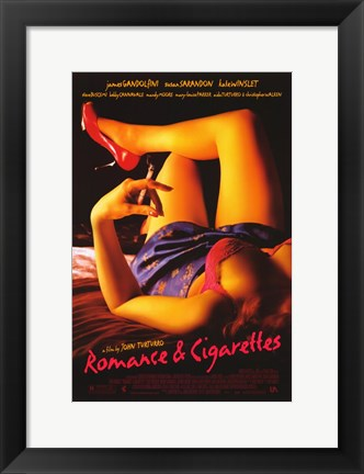 Framed Romance and Cigarettes Print