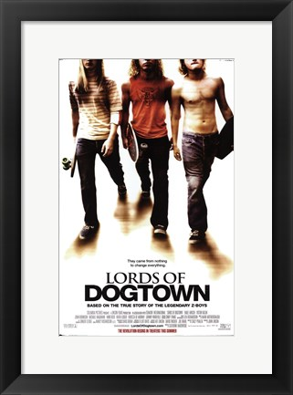 Framed Lords of Dogtown Print