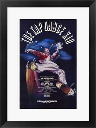 Framed Tap Dance Kid  the (Broadway Musical) Print