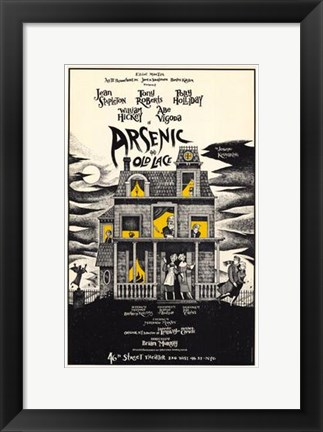 Framed Arsenic and Old Lace (Broadway) Print