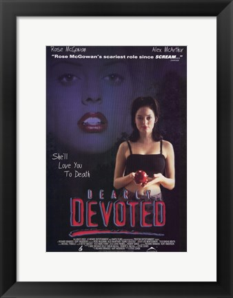 Framed Dearly Devoted Print