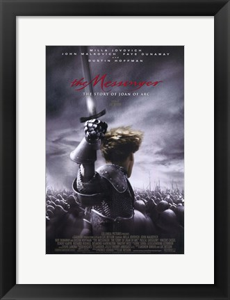 Framed Messenger: the Story of Joan of Arc Print
