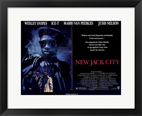 Framed New Jack City Print