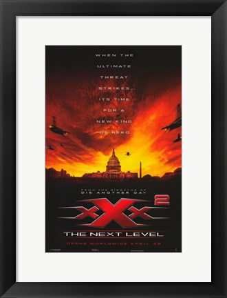 Framed Xxx: State of the Union Movie Print