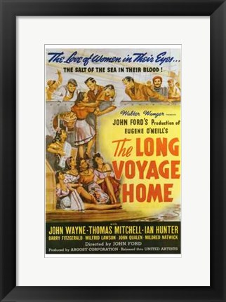 Framed Long Voyage Home Print