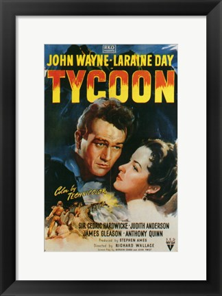 Framed Tycoon Print