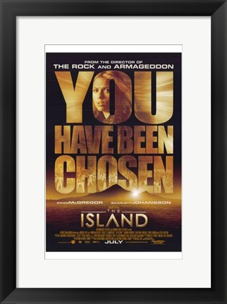 Framed Island - You have been chosen Print
