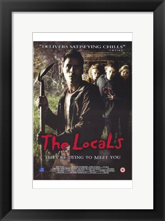 Framed Locals Print