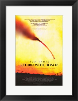 Framed Return with Honor Print