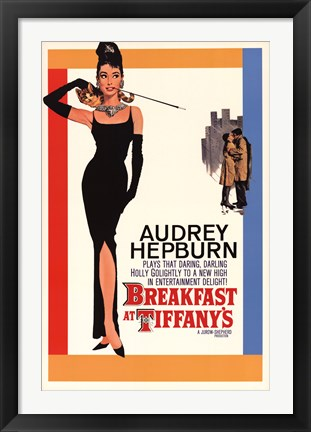 Framed Breakfast at Tiffany's (One-Sheet) Print