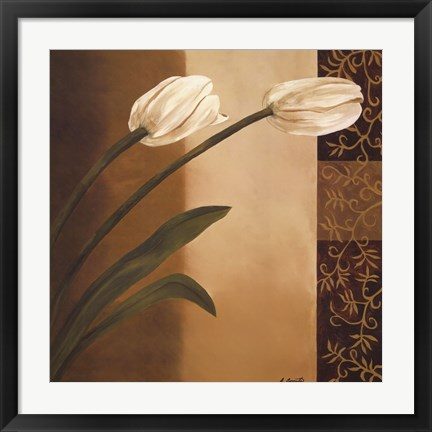 Framed Tulip Pair Print