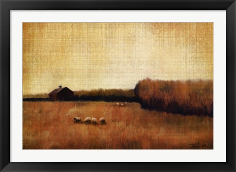Framed Open Range I Print