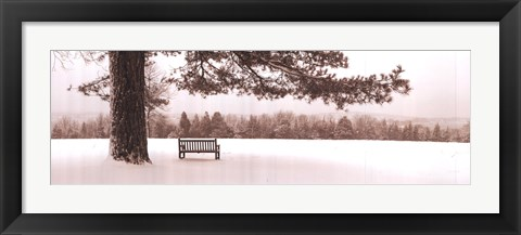 Framed First Snow II Print