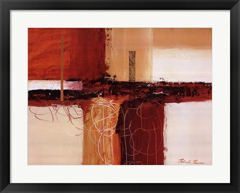 Framed Earthen Hues II Print