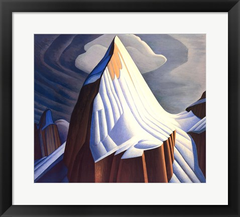 Framed Mount Lefroy Print