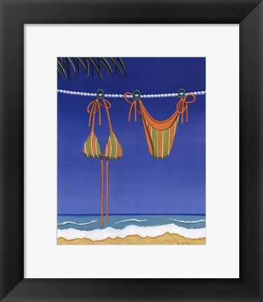 Framed Beach Bound - Bikini Print