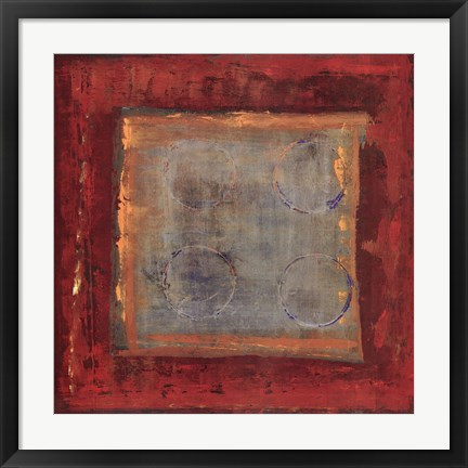 Framed Red Hot Print